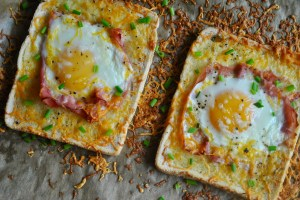 ham egg in the hole recipe - 1