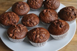 easy chocolate muffins recipe - 3