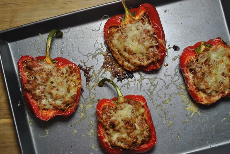 roasted stuffed peppers recipe - 2