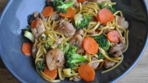 Honey & Garlic Chicken Stir Fry Recipe