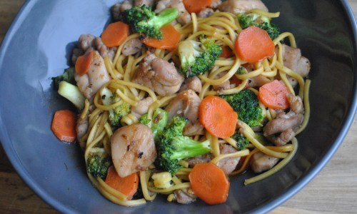 Honey & Garlic Chicken Stir Fry Recipe