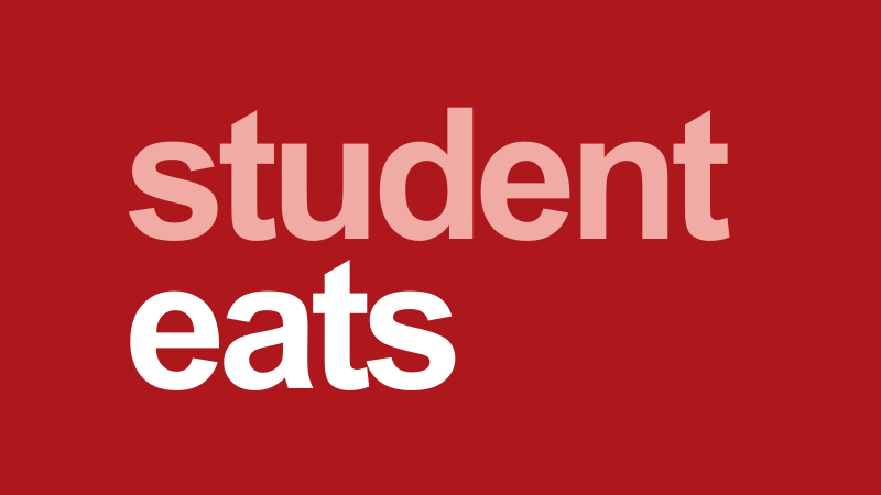 student eats logo new