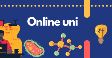 Online Uni; Because we must