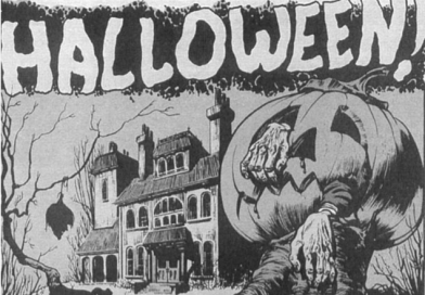 Picture: Halloween Horror, From Shock comics, 1952.[1]
