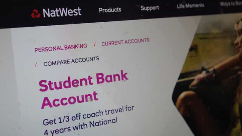 student bank account 2