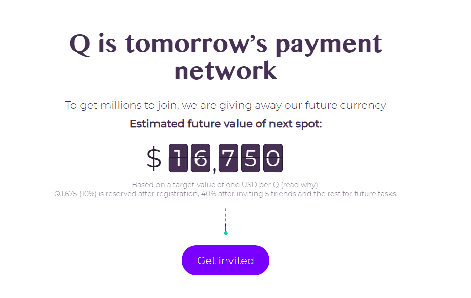 QUAHL THE FUTURE OF PAYMENTS