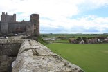 The castle postion gave it a commanding view over the Northumbrian countryside