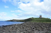 Dunstanburgh for the nearby beach, an impressive sight even today