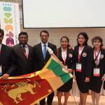 Sri Lankan Biology Olympiad Team at Switzerland