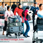 How to find Foreign Jobs – for Sri Lankans