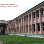 Postgraduate degrees @ University of Peradeniya MSc PhD MPhil MA MEd