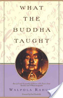 what the buddha taught Dr Walpola Rahula