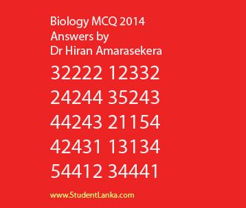 AL-Biology-Answers-MCQ-2014-Dr-Hiran-Amarasekera