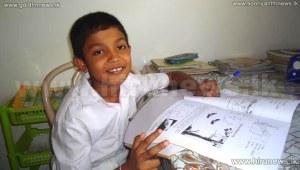 Grade 5 Scholarship Wenuja Nimsath of Embilipitiya