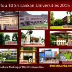 World ranking Top Sri Lankan Universities 2015 January