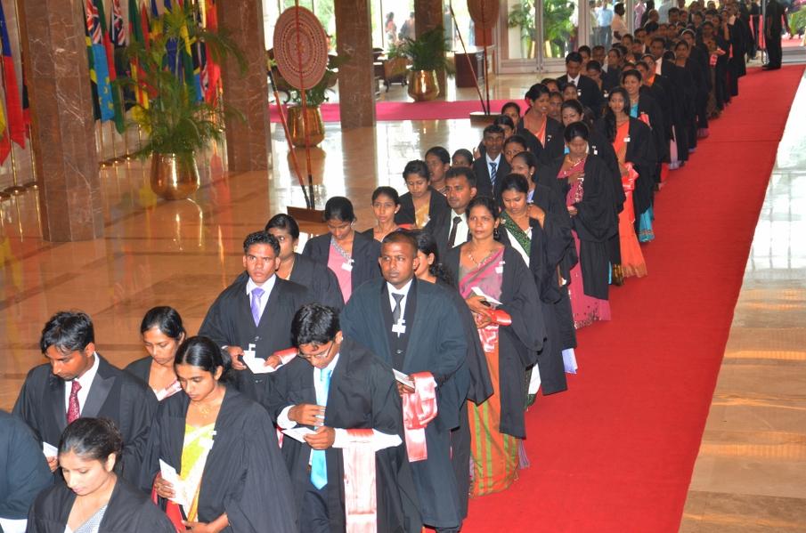 External Degree Convocation of University of Sri Jayewardenepura @ BMICH