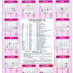 Download Sri Lankan Calendar 2016 and public holidays by Government Press