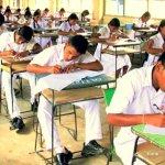 sri lanka students doing exam AL