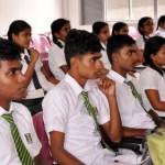 School students at English-Workshop_University-of-Kelaniya