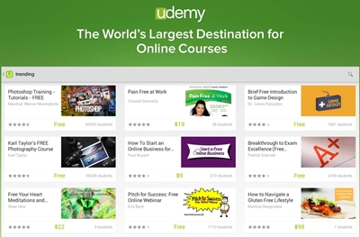 Learn on your schedule Study any topic, anytime. Explore thousands of courses starting at $11.99 each The world's largest selection of courses Choose from over 100,000 online video courses with new additions published every month