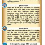 2019 Aurudu Nakath auspicious times New year