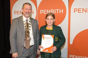 Civic Reception for Penrith Primary School Leaders