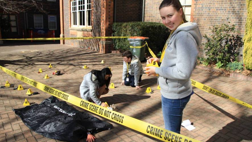 Students Run Forensic Camp