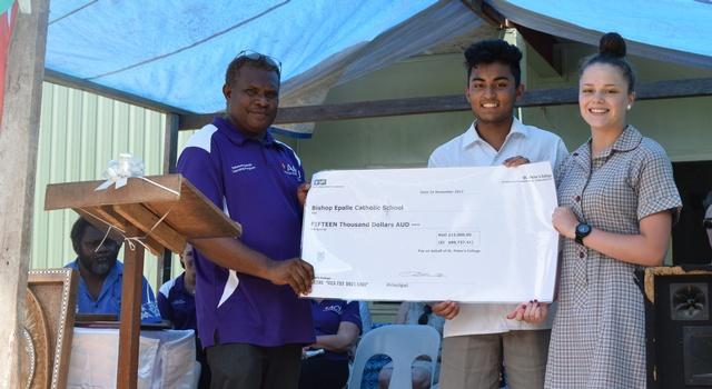 Lending a Hand to Solomon Islands Sister School