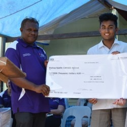 Lending a Hand to Solomon Islands Sister School