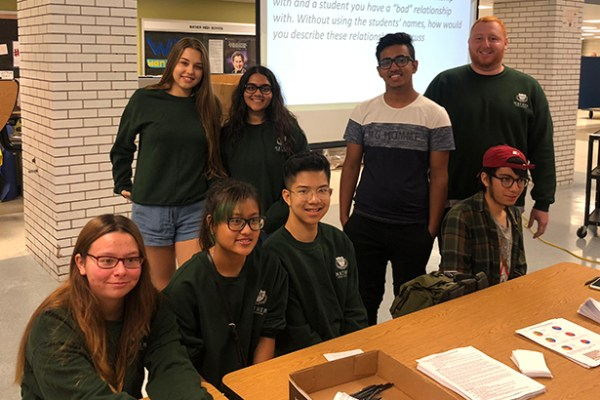 Student Voice Makes Peers More Comfortable