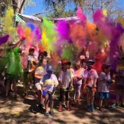 Colour Run in Moree