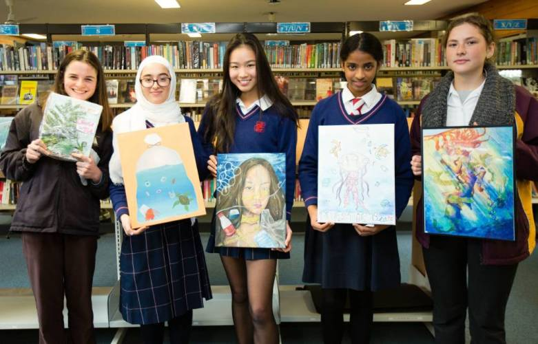 Students Saving the Planet One Artwork at a Time