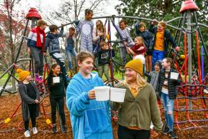 Trevallyn Primary School Keeps Everybody Warm