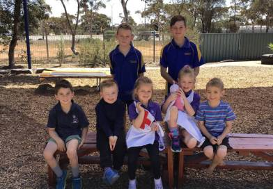 "Port Augusta West Primary School Students Continue ""Build and Donate"" Tradition"