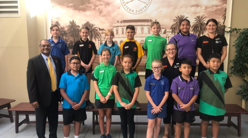 Pilbara Primary Student Leaders Meet with Politicians for Leadership Training