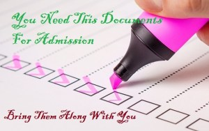 post utme required documents