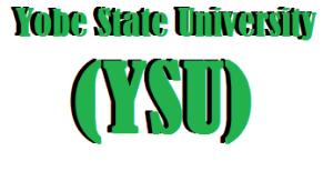 Yobe State University (YSU) Admission list and status