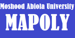 MAPOLY Admission List out on Moshood Abiola University portal
