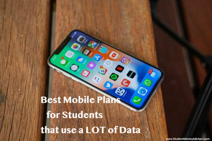Best Mobile Plans For Students That Use A Lot Of Internet