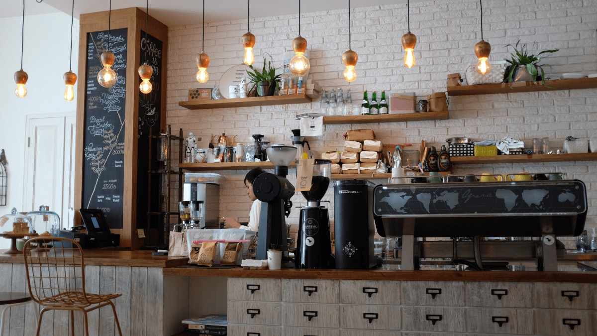 Image of a coffee shop