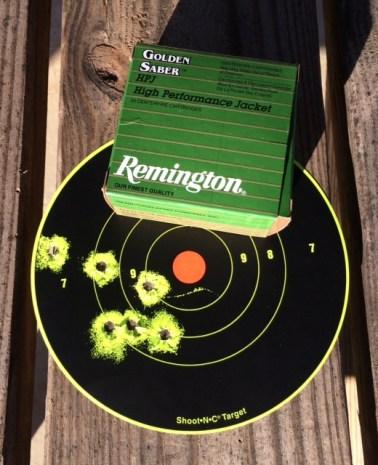 Remington golden sabre