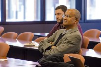 Professor Bartram Brown attended this China Law Society lunch & learn session with presentations from three current LLM students on April 19, 2018