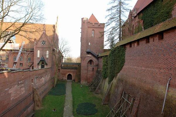 Верхний замок в Мальборке
