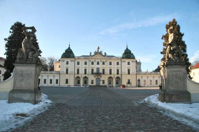 дворцово-парковый комплекс Браницких