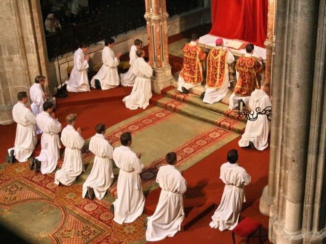 Обряды католической церкви