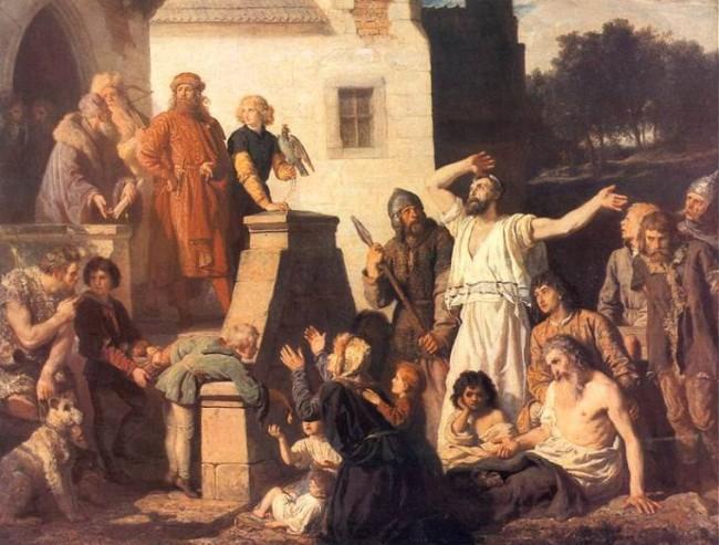 Войцех Герсон (1831-1901), Казимир Великий и евреи