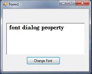 fontdialog