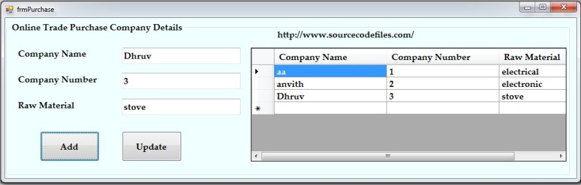 online trade employee purchase details