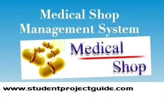 Medical Shop Management System