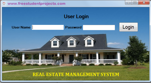 Real Estate Management System Synopsis